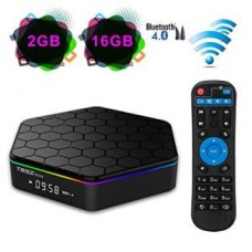 T95Z Plus Android Box, Android 7.1 S912 2GB/16GB Octa-Core 2.4G/5G Dual Wifi 1000M LAN Bluetooth 4.0 H.265 4k