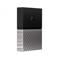 WD My Passport Ultra 3TB USB 3.0 Portable External Hard Drive (WDBFKT0030BGY-WESN) - Black/Silver