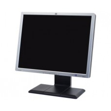 "HP LP2065 Silver-Carbonite 20"" 8ms LCD Monitor with Height, Pivot & Swivel Adjustments 300 cd/m2 800:1 w/ 4 down USB Ports"