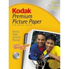 Kodak Premium Picture Paper 8.5inx11in, 15 Sheets
