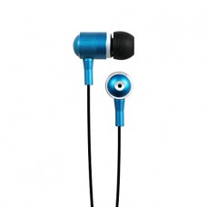 HIPSTREET HIPBUDZ NOISE ISOLATING STEREO EARBUDS