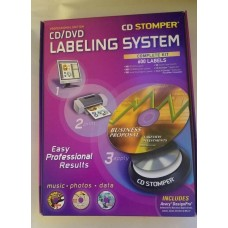 CD-Stomper Applicator with Software and Labels