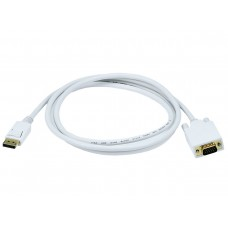 6FT DISPLAY PORT TO VGA CABLE