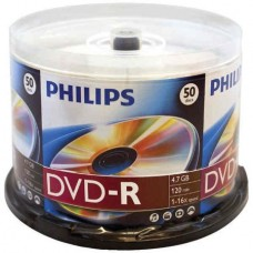 PHILIPS DVD-R 16X/50PACK