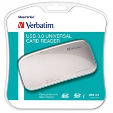 VERBATIM 97706 USB 3.0 SUPERSPEED CARD READER
