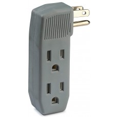 LUMINUS 3 OUTLET POWER PLUG/Vertical Side-Access