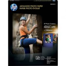 HP Advanced Photo Paper, GLS, 5X7, 20 Sheets CG812A