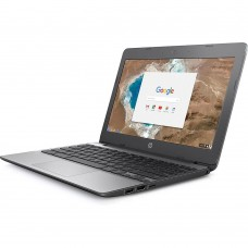 HP Refurbished 11-V010NR 11.6-inch Chromebook, 1.6 GHz Intel Celeron N3060, 16 GB SSD, 4 GB DDR3, Chrome OS