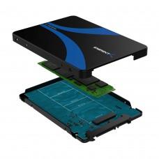 M.2 SSD to 2.5-Inch SATA III Aluminum Enclosure Adapter (EC-M2SA)