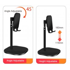 """Adjustable Cell Phone/Tablet Desktop Stand Cradle Dock Holder Compatible with iPhone/iPad and more 3.5 to 11"""""""