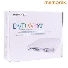 Memorex MRX-650LE CD DVD ± RW DL USB 2.0 Slim External Drive Burner Writer
