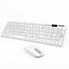 2.4G Ultra thin wireless keyboard/mouse combo