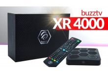 BuzzTV XR4000-Android 9.0 IPTV Set-Top Box with IR-100 Remote-4K Ultra HD-2GB RAM 16GB Storage-Latest Graphics Processor-Dual Band WiFi
