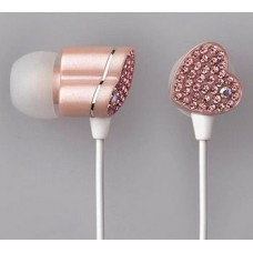 JEWEL HEART HEADPHONES
