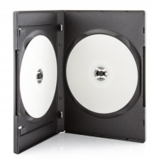 CD/DVD PLASTIC REGULAR DOUBLE CASE