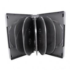 CD/DVD PLASTIC CASE HOLDS 10