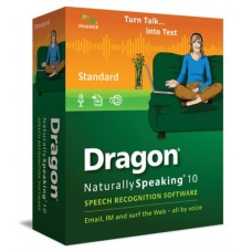 Dragon NaturallySpeaking 10 Standard (Old Version) Open Box