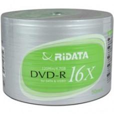 Ridata 16x DVD-R 4.7GB Logo MyEco/50 Pack