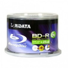 Ridata BD-R BLU-RAY Hub Printable/50 Pack