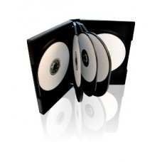 CD/DVD PLASTIC CASE HOLDS 6