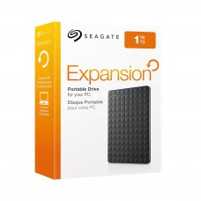 Seagate Expansion 1TB USB 3.0 External Hard Drive, Black