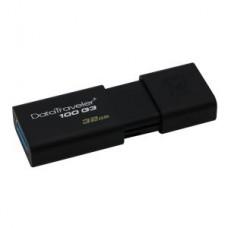 Kingston DataTraveler 100 G3 - USB flash drive - 32 GB - USB 3.0 - black