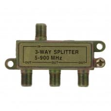 3-Way Coax Cable Splitter
