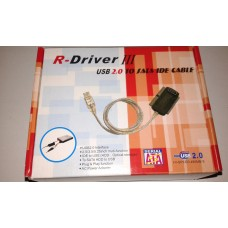 R-driver iii usb 2.0 to sata ide cable - usb 2.0 interface - 2.5/3.5/5.25inch muti-function - ide to usb (hdd, optical storage)