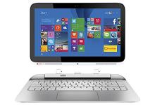 """Hp - Split X2 2-in-1 13.3"""" Touch-screen - Intel Core I3 - 4gb Memory - 500gb- Snow White/ash Silver -Win 10"""