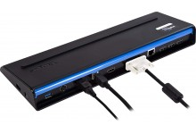 Targus USB 3.0 SuperSpeed Dual Video Docking Station with Power, PC/Mac/MS Surface