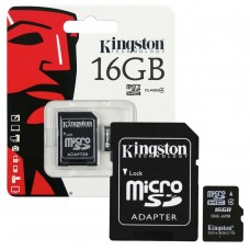 KINGSTON 16GB MICRO SD CARD/CLASS 10